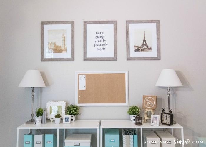 Office Organization Ideas Joyful Homemaking