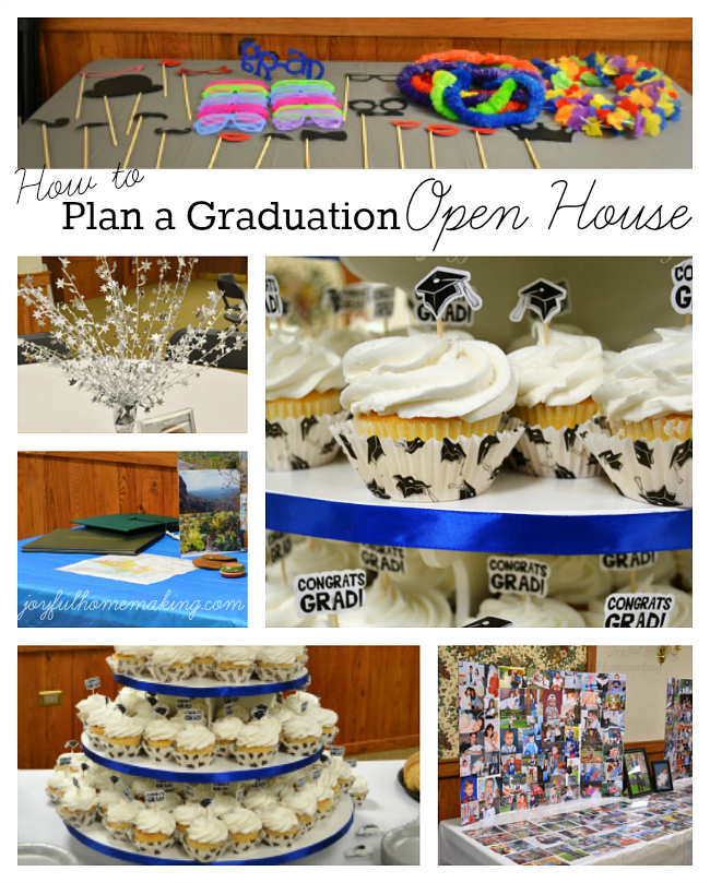 How to plan a graduation open house