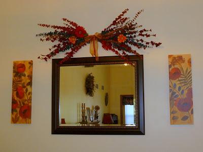 burgandy gold living room, I Don't Have the Decorating Gene, Joyful Homemaking