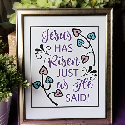 Free Printable Easter Message