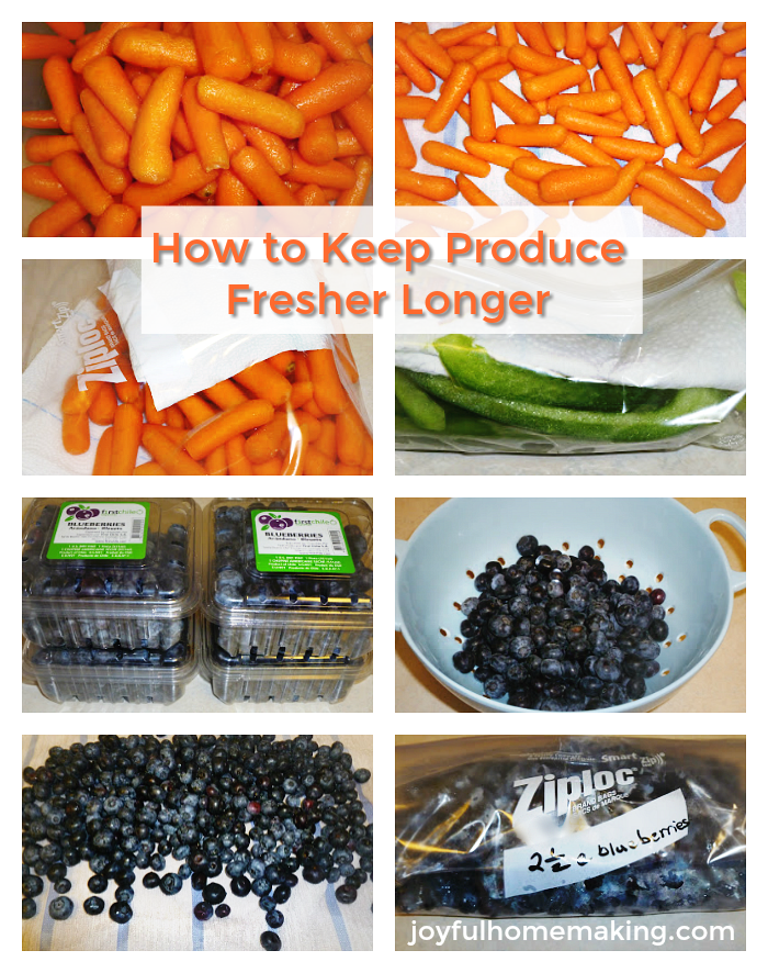 , How to Keep Fruits and Vegetables Fresher Longer,