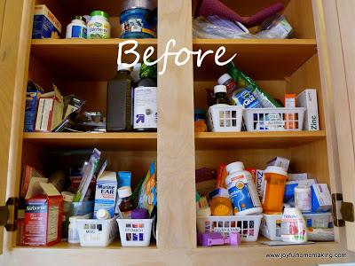 Kitchen Medicine Cabinet, Joyful Homemaking