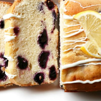 Luscious Lemon Blueberry Bread