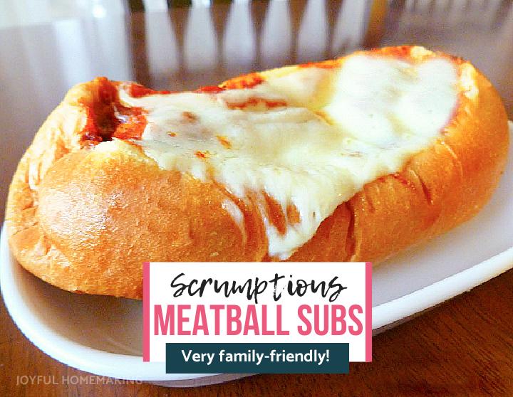 Meatball Subs, Joyful Homemaking