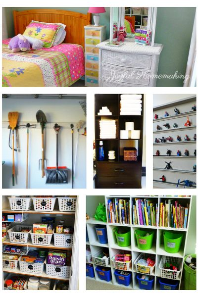 , Shop Organizing Favorites, Joyful Homemaking