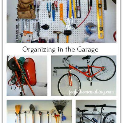 Organizing in the Garage