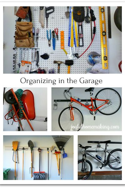 , National Clean Out Your Garage Day, Joyful Homemaking