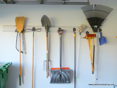 Organizing in the Garage, Joyful Homemaking
