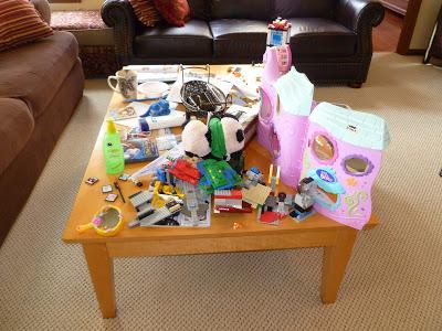 Family Room Organization, Joyful Homemaking