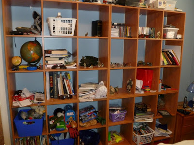 , Organizing in the Boys' Room, Joyful Homemaking