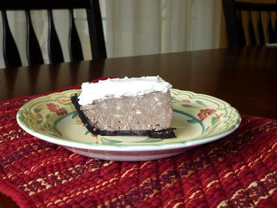 , Freezer Chocolate Pie, Joyful Homemaking