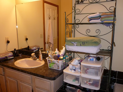 "Bathroom Storage and Organization, Organizing in the ""Powder Room"", Joyful Homemaking"
