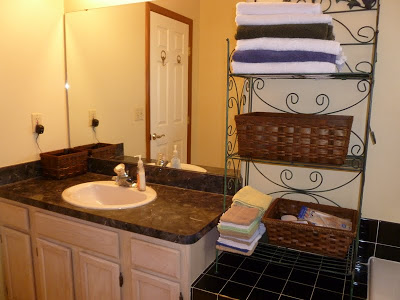 Bathroom Storage Solution, Joyful Homemaking