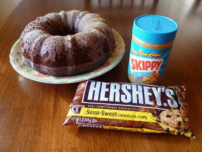 chocolate peanut butter glaze, Chocolate Peanut Butter Glaze,