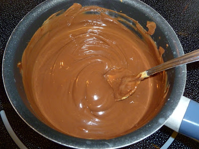 Chocolate Peanut Butter Glaze, Joyful Homemaking