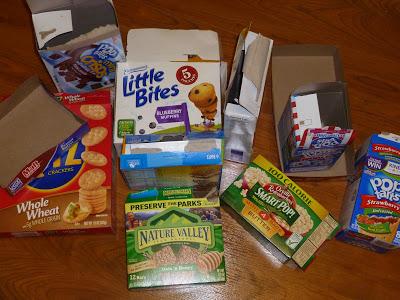 Organizing Children's Snacks, Joyful Homemaking