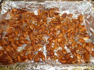 Pumpkin Pie Spiced and Sugared Nuts, Joyful Homemaking