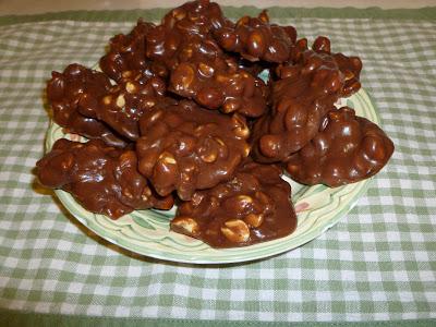 chocolate nut clusters, Chocolate Nut Clusters, Joyful Homemaking