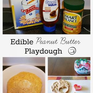 Play Dough Your Kids Can Eat