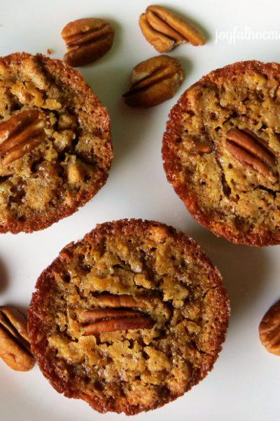 vegan muffins, Vegan Raisin Date Pecan Mini Muffins, Joyful Homemaking