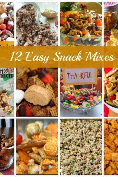 , Fall Sweet and Salty Snack Mix, Joyful Homemaking
