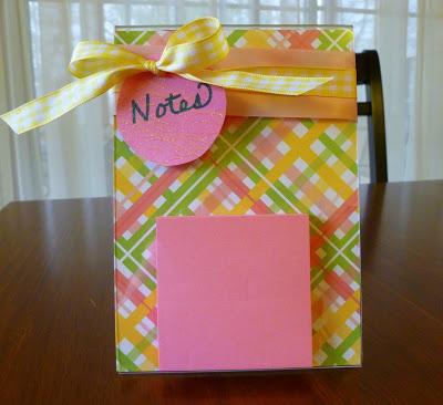 , Post It Note Holder, Joyful Homemaking
