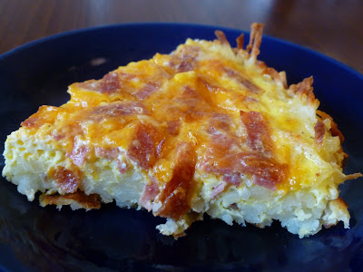 quiche hashbrown crust, Quiche with Hash Brown Crust, Joyful Homemaking