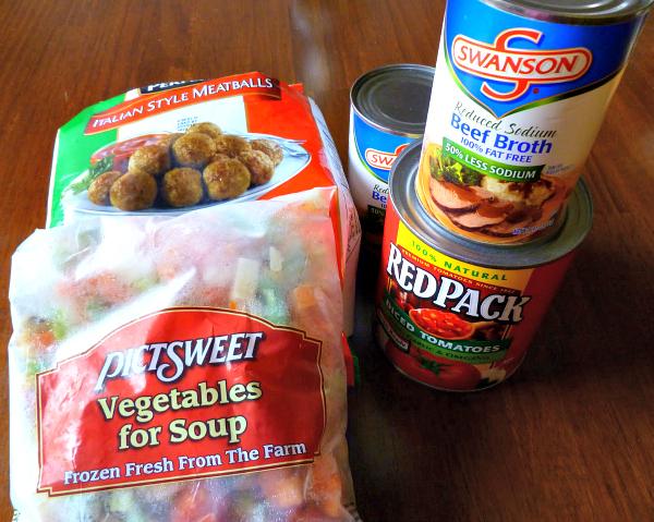 Quick Italian Meatball Soup, Joyful Homemaking
