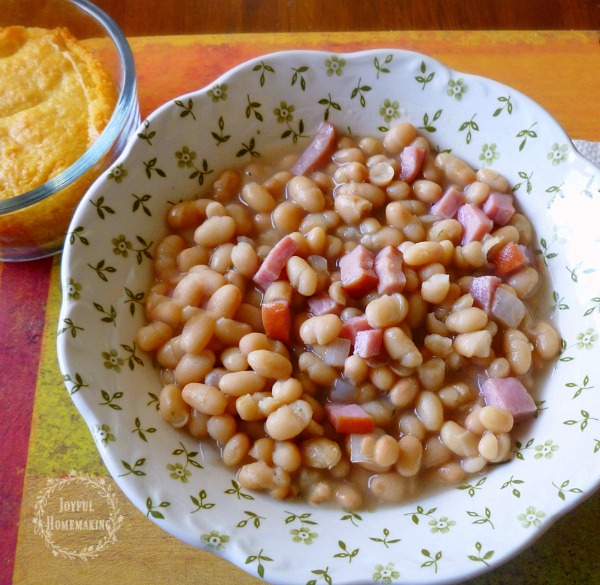 Ham and Navy Bean Soup