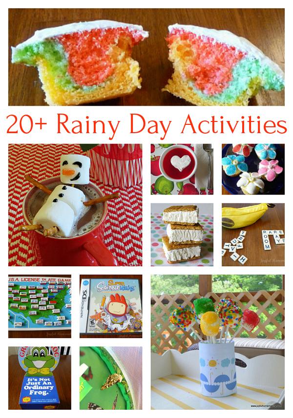 rainy day activites, Rainy Day Activities, Joyful Homemaking
