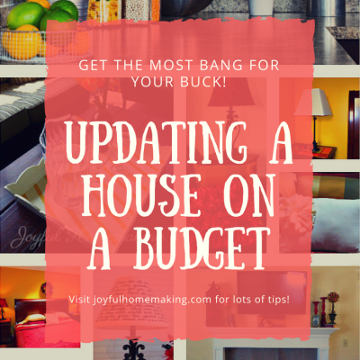Updating a House on a Budget