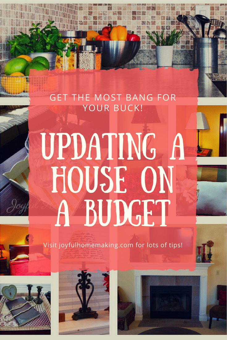 Updating a House on a Tight Budget