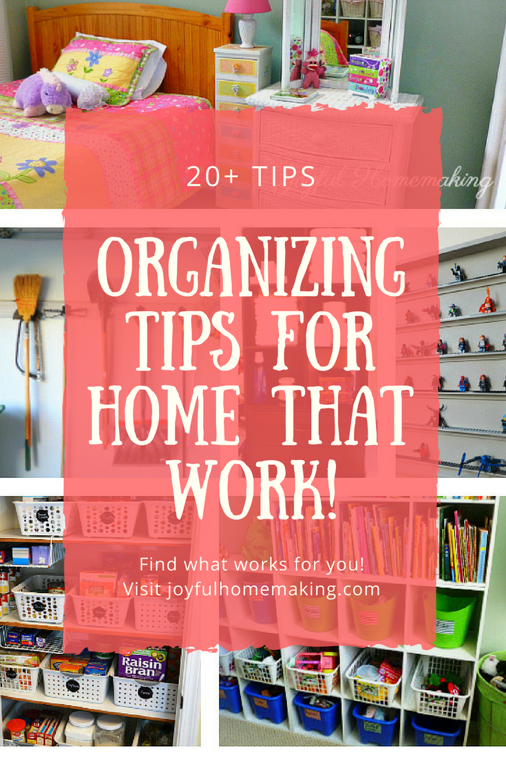 Organizing Tips for Home