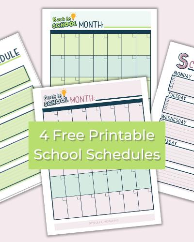 , Free Printable First Day of School Signs, Joyful Homemaking