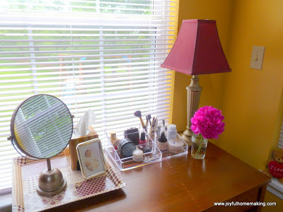 Setting Up a Vanity, Joyful Homemaking
