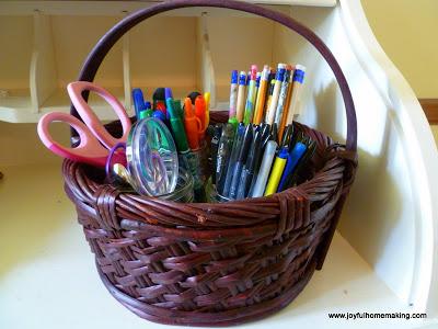 , Silverware Caddy Organization, Joyful Homemaking