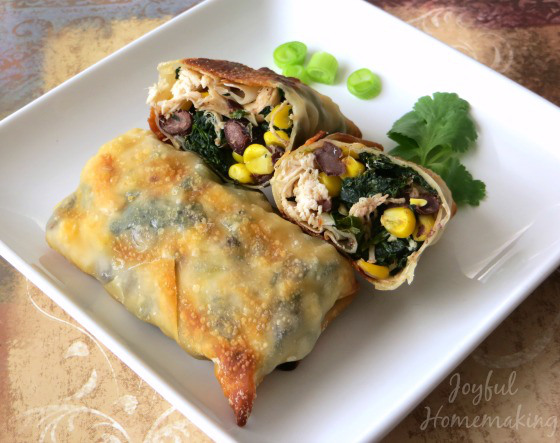 Southwestern-Chicken-Egg-Rolls