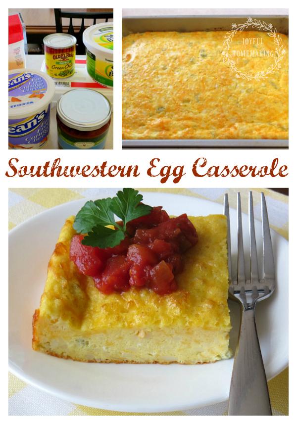 Southwestern Egg Casserole