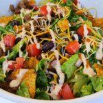 , Taco Salad with Doritos,