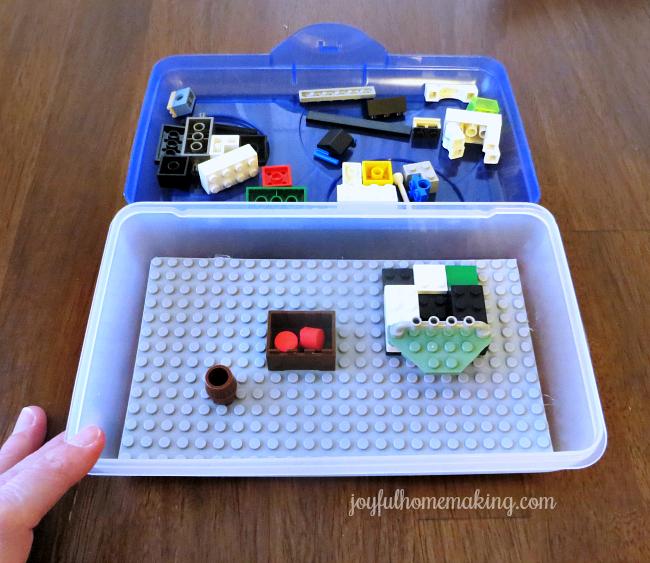 travel lego play case, Travel Lego Play Case, Joyful Homemaking