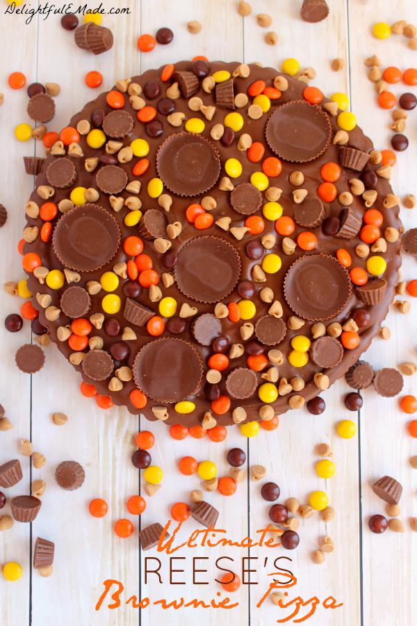 Reese's Brownie Cake