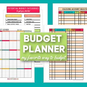 Free Printable Budget Sheets