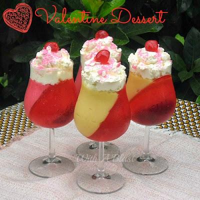 Valentine Dessert ~ quick and easy to make ! Pantry ingredients !  #ValentineDessert #ValentinesDay #Dessert