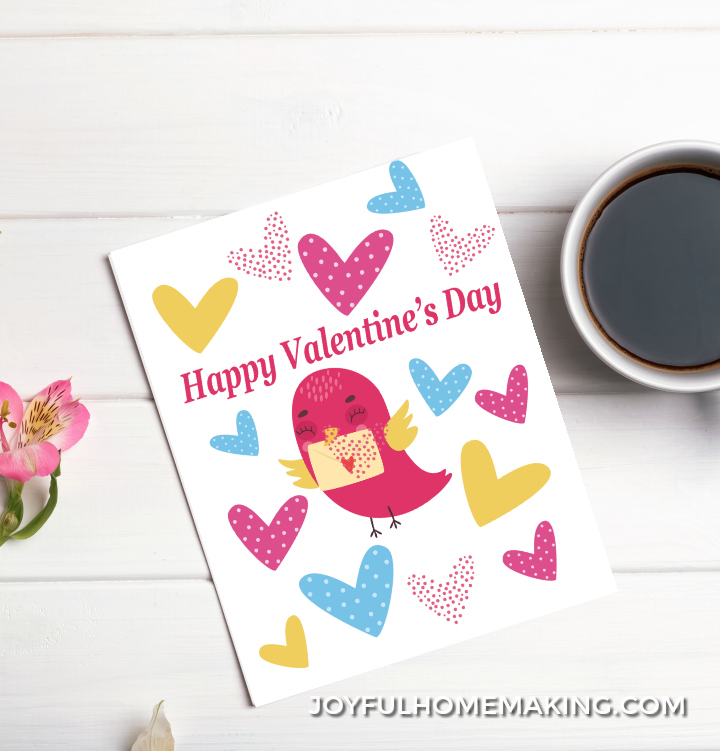 Free Printable Valentine's Day Card