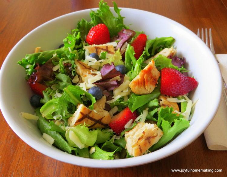 Wendy's copycat salad