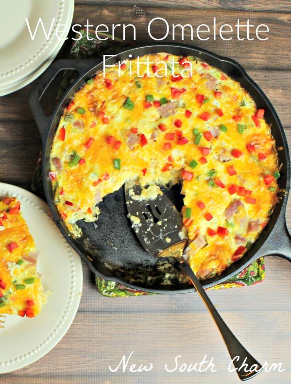 Western Omelette Frittata