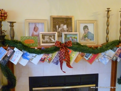 , What I do with Christmas Cards, Joyful Homemaking