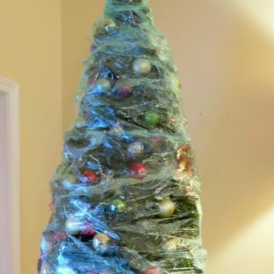 We Wrapped Our Christmas Tree
