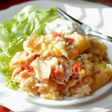 Super Easy Adobe Chicken Casserole, Joyful Homemaking