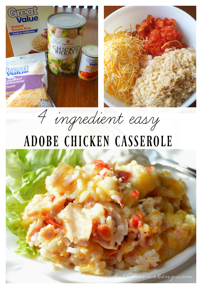 Adobe Chicken Casserole